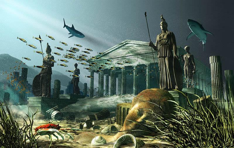Как затонула атлантида