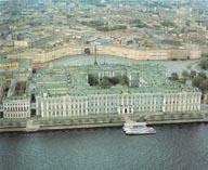 Зимний дворец вид сверху