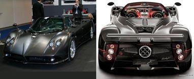 Автомобиль Pagani Zonda C12 F