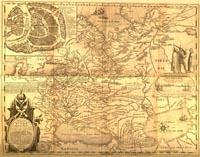 Первая карта Руси составлена Федором Годуновым