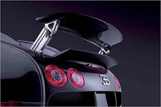 Авто Bugatti Veyron задний спойлер