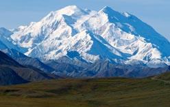 Гора Мак-Кинли в Северной Америке