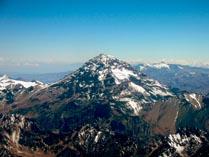 Гора Аконкагуа в Южной Америке