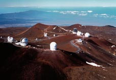 Научная обсерватория на его поверхности вулкана Мауна-Кеа