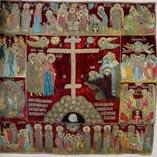 Пелена явления Божьей Матери Сергию Радонежскому