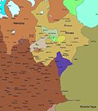 Карта Европы в 1425 году