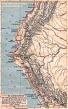 Карта походов Писсаро
