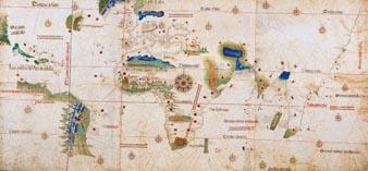 Первая карта Португальских мореплавателей