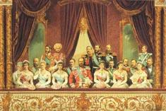 Парадный спектакль в большом, вся семья Александра 3