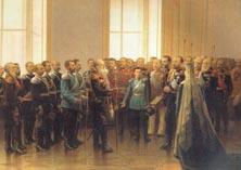 Представление Александру 3 казачьих атаманов