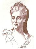 Екатерина 2 эскиз, рисунок