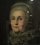 Екатерина 2 в возрасте, художник неизвестен, картина висит в краеведческом музее г. Конаково Тверской области