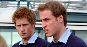 Принцы Уильям и Гарри, дети Дианы