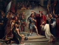 Крещение Хлодвига в Реймсе в 496 году, Хлодвиг I