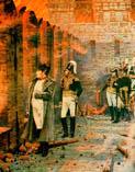 Верещагин. Пожар в Москве 1812.