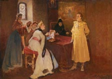 Лжедмитрий и Ксения Годунова