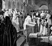 Венчание на царство малолетних Иван 5 и Петр 1