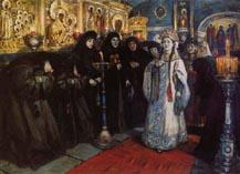 Царевна в монастыре