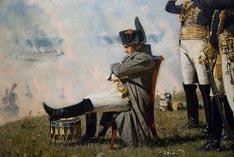 Наполеон во время Бородинского сражения