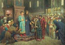Призвание на царство (Михаил Федорович с матерью в думе)