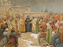 Призвание на царство (Михаил Федорович с матерью)