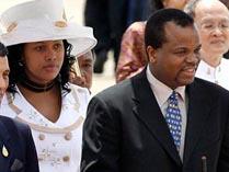 Король Свазиленда Мсвати III с супругой