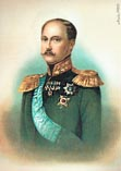 Николай I в возрасте