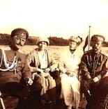 Саблин Николай Павлович, Ольга, Александра Федоровна и Николай 2