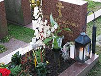 Могила Танеевой Анны Александровной в Хельсинки