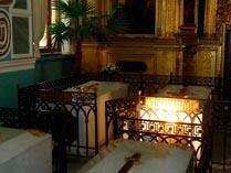 Надгробная плита Павла 1 в Петропавловском Соборе Санкт-Петербурга