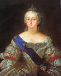 Елизавета Петровна в юнности