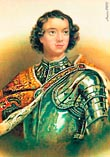 Петр 1 в юнности официальный портрет