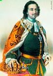 Петр 1 в зрелом возрасте официальный портрет