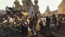 Утро стрелецкой казни, Суриков