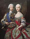 Петр III Федорович и его супруга Екатерина II Алексеевна родители Павла 1