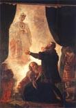 Пан Твардовский (маг и чародей) вызывает дух Барбары Радзивилл