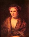 Хендрикье Стоффельс третья жена Рембрандта