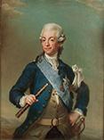 Король Швеции Густав III портрет