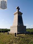 Памятник шведским воинам на братской могиле под Полтавой