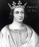 Король Франции Филипп Красивый (разбомбил орден Тамплиеров)