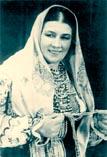 Лидия Русланова известная исполнительница русских народных песен
