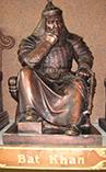 Бату Хан (Батый), глава Золотой Орды, второй сын Джучи, внук Чингисхана