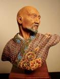 Лучший восточный полководец мира Чингизхан, восковая фигура