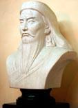 Лучший восточный полководец мира Чингизхан, бюст