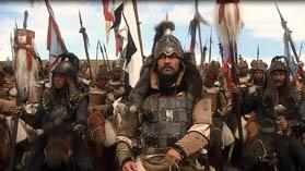 Кадр из фильма ВВС Чингизхан - Тимучин в борьбе за власть