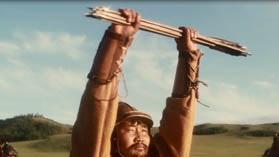 Кадр из фильма ВВС Чингизхан - единство племен великая сила