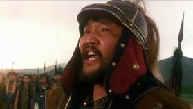 Кадр из фильма ВВС Чингизхан - Субэдей один из главных военначальников