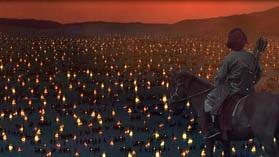 Кадр из фильма ВВС Чингизхан - лагерь Чингизхана