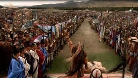 Кадр из фильма ВВС Чингизхан - избрание великого хана всех монголов