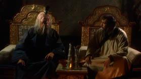 Кадр из фильма ВВС Чингизхан - Шаолинский монах и Чингизхан